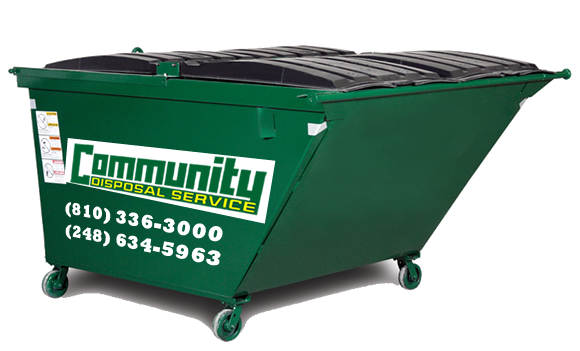 Commercial Dumpster, Trash Services, Business, Burton, Holly, Grand Blanc, Fenton, MI, Michigan