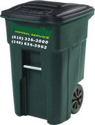 Curbside Residential Trash Collection Service